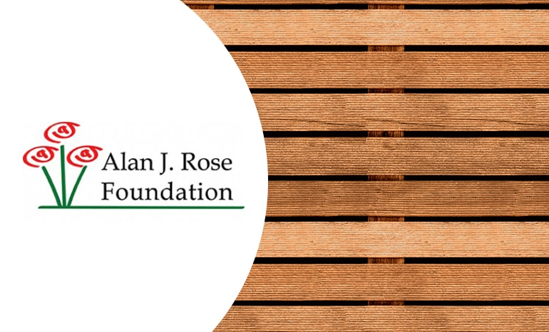 alan j. rose foundation branding