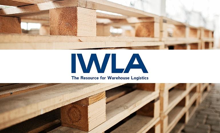 iwla branding over pallets