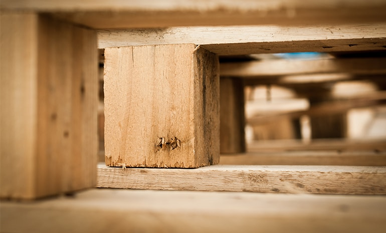 Lumber Used To Make Wooden Pallets