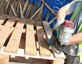 remanufactured pallets
