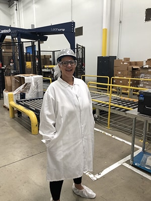amy in food plant